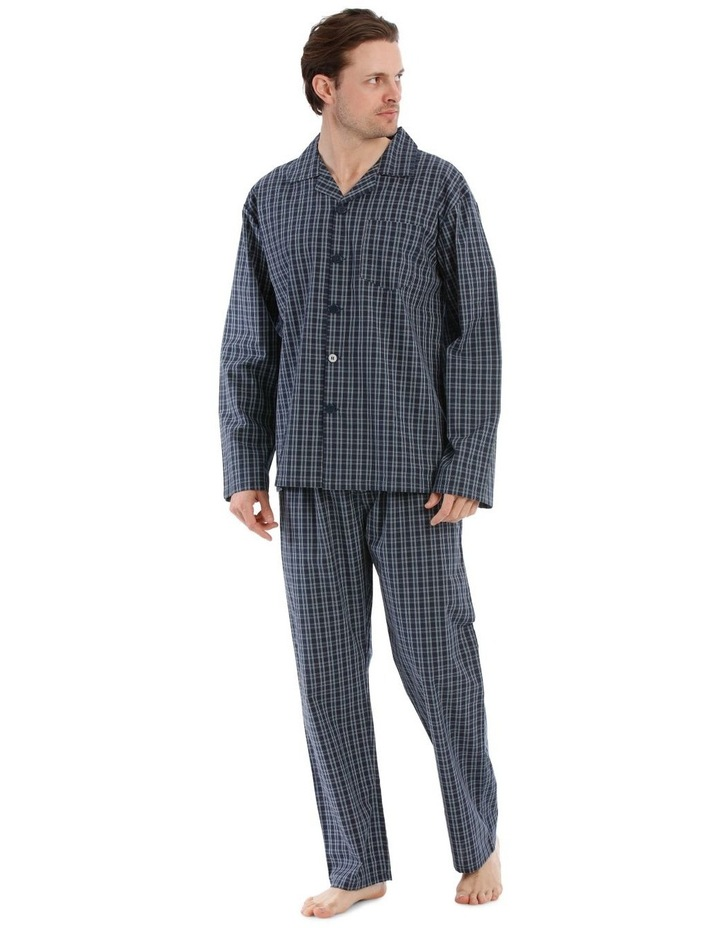 Essentials Long Sleeve Pj Set - Classic Check image 1