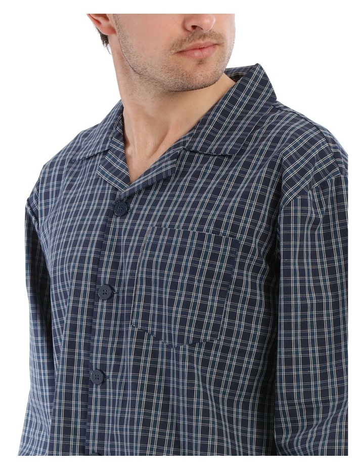 Essentials Long Sleeve Pj Set - Classic Check image 3