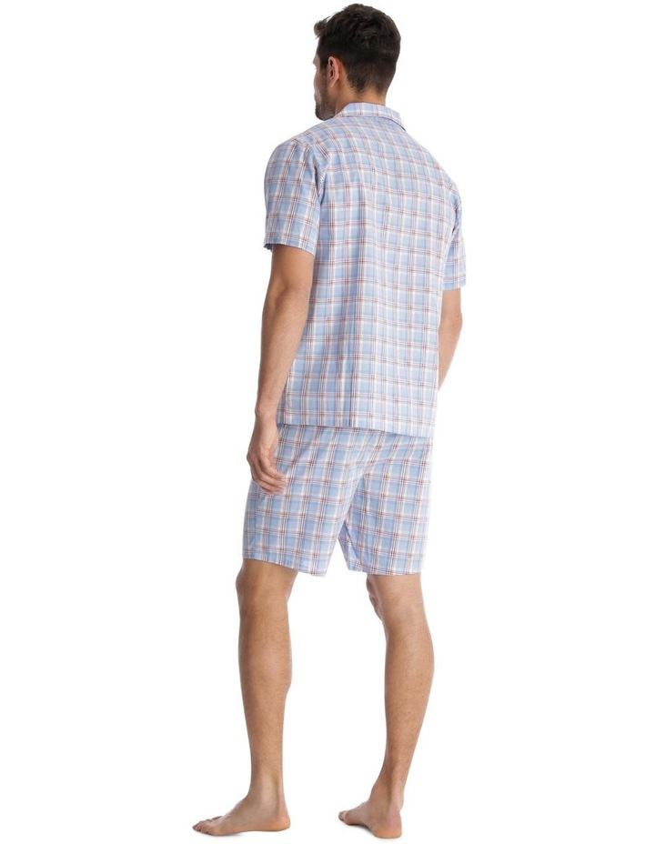 Essentials Short-Sleeve Pyjama Set - Maritime Check image 2