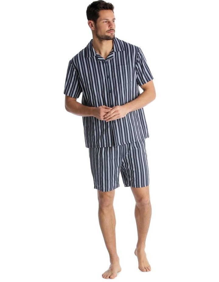 Essentials Short-Sleeve Pyjama Set - Stripe image 1