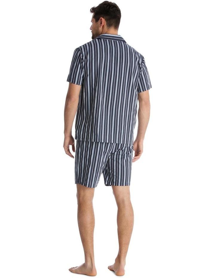 Essentials Short-Sleeve Pyjama Set - Stripe image 2