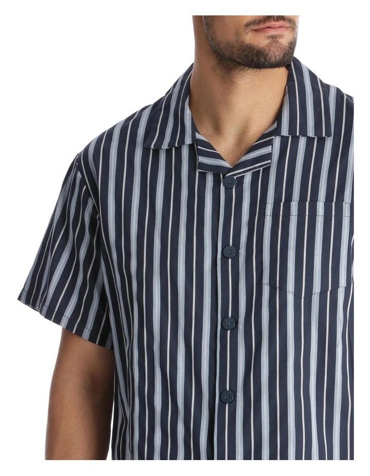 Essentials Short-Sleeve Pyjama Set - Stripe image 3