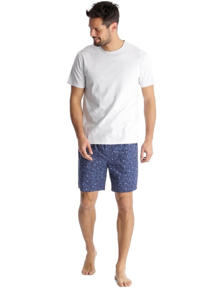 Essentials Short-Sleeve T-Shirt & Short Set - Leaves image 1