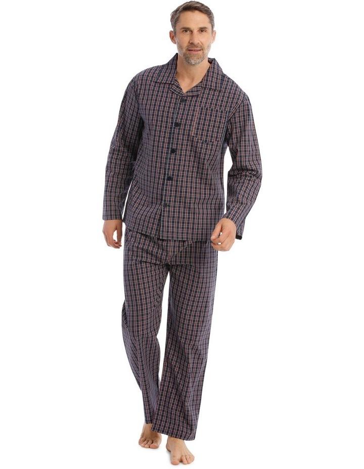 Essentials Long-Sleeve Poplin Pyjama Set image 1