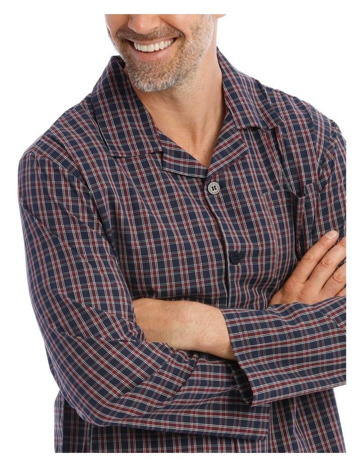 Essentials Long-Sleeve Poplin Pyjama Set image 3