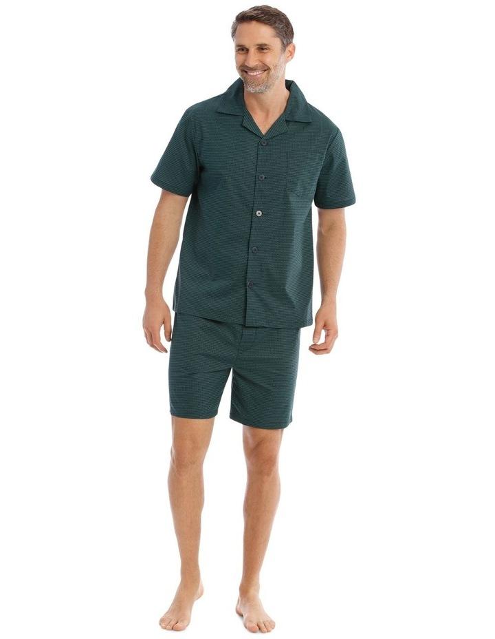 Essentials Short-Sleeve Poplin Pyjama Set image 1