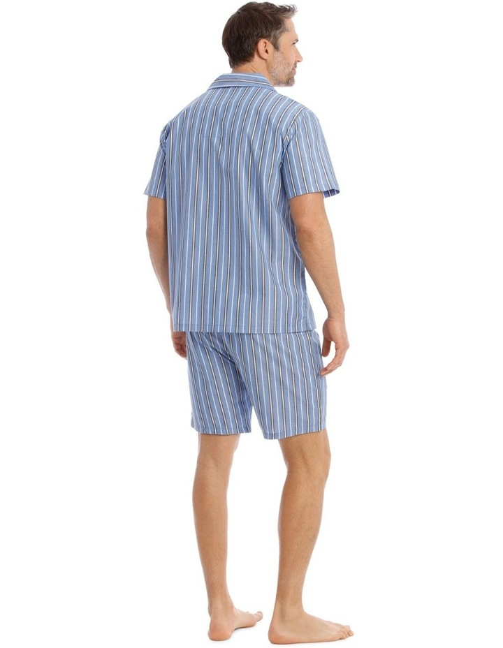 Essentials Short-Sleeve Poplin Pyjama Set image 2