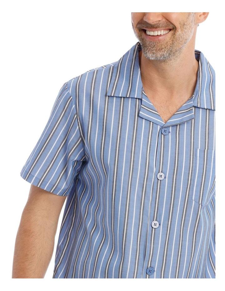Essentials Short-Sleeve Poplin Pyjama Set image 3