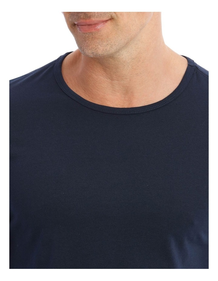 Essentials Long-Sleeve T-Shirt & Stripe Pant Pyjamas image 3