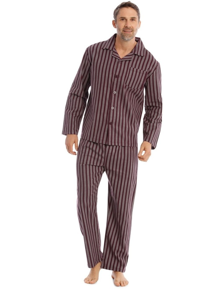 Essentials Long Sleeve Flanelette PJ Set image 1