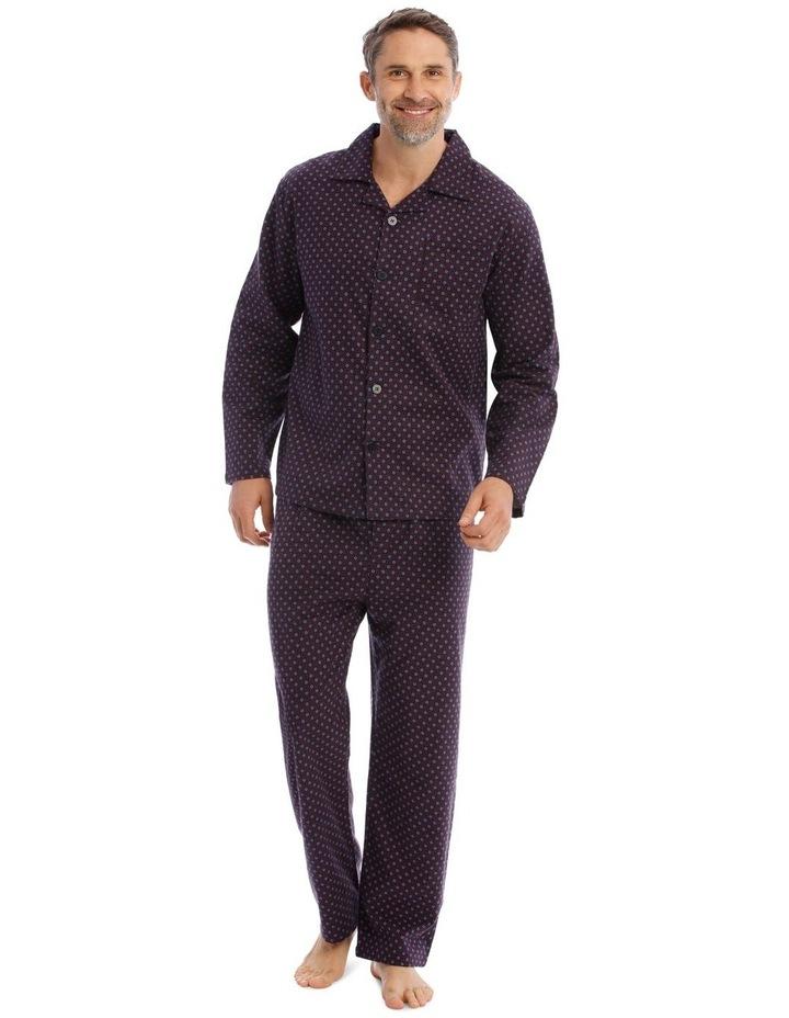 Essentials Long-Sleeve Flannelette Pyjama Set image 1
