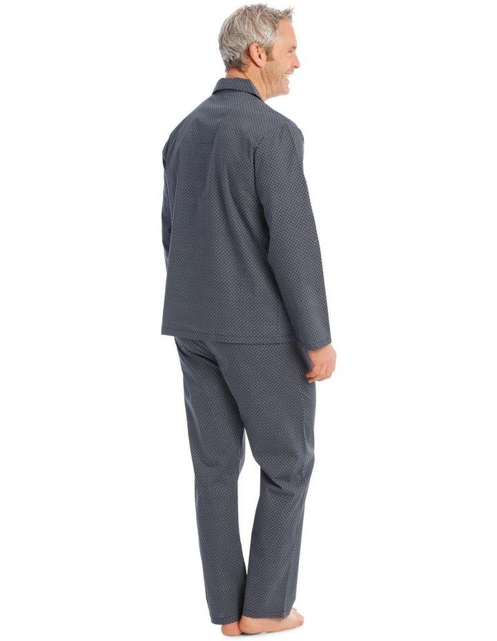Long Sleeve Poplin PJ Set - Neat image 2