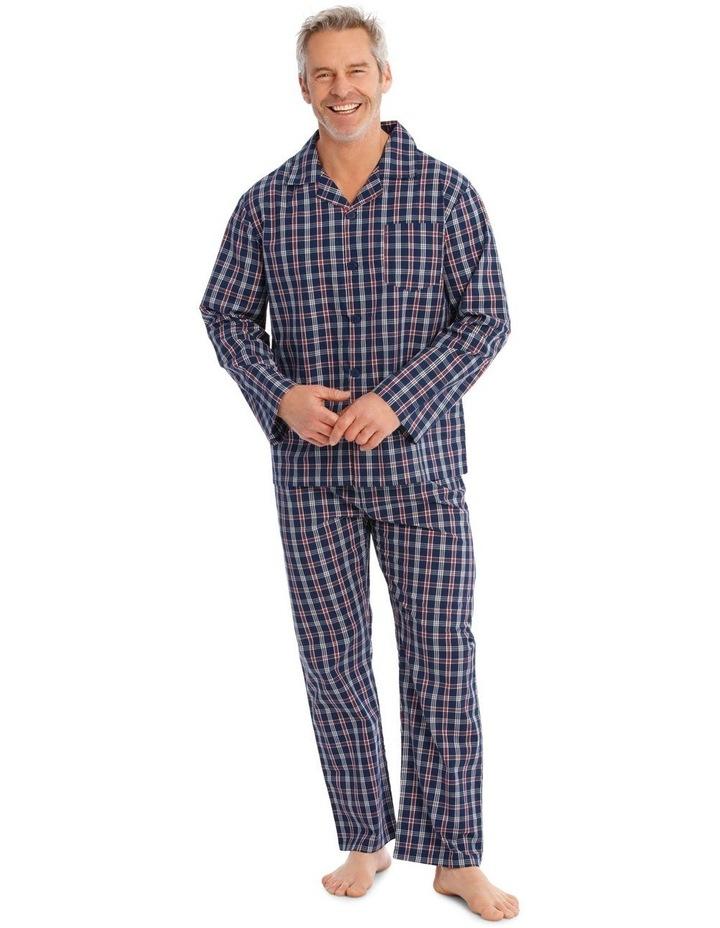 Long Sleeves Poplin PJ Set - Summer Check image 1