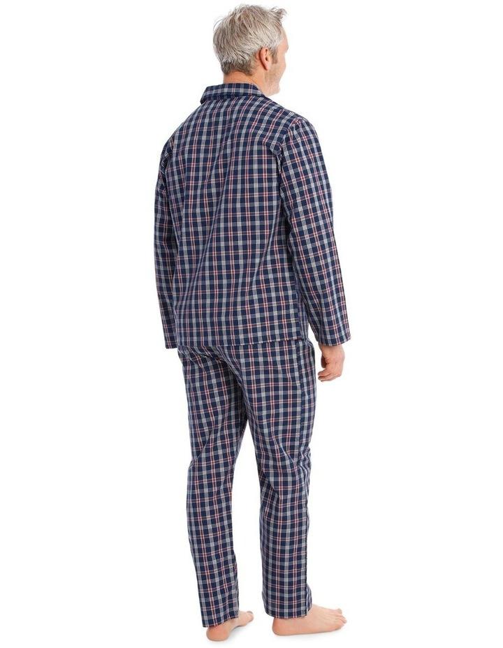Long Sleeves Poplin PJ Set - Summer Check image 2