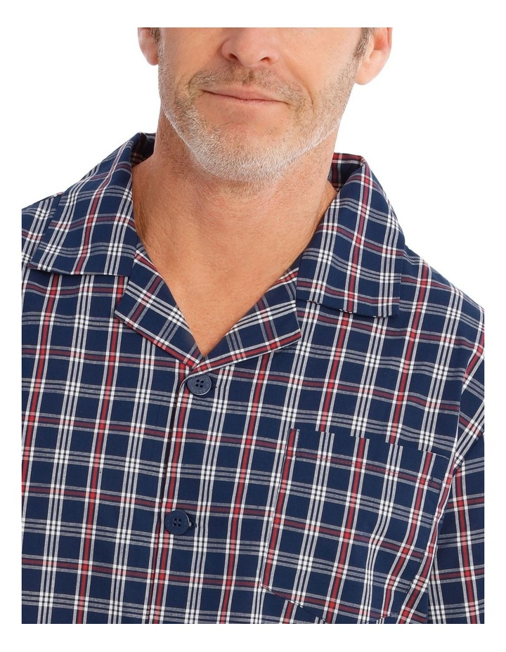 Long Sleeves Poplin PJ Set - Summer Check image 3