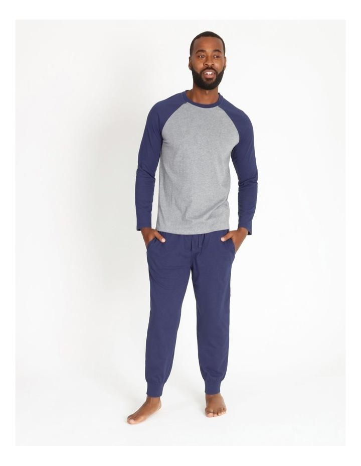 Essentials Long Sleeve Tee & Knit Jogger Pj Set image 1