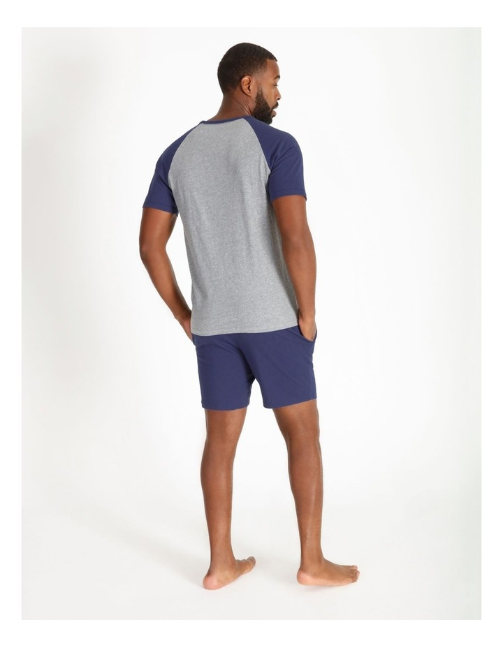 Short Sleeve Tee & Knit Short Set image 3