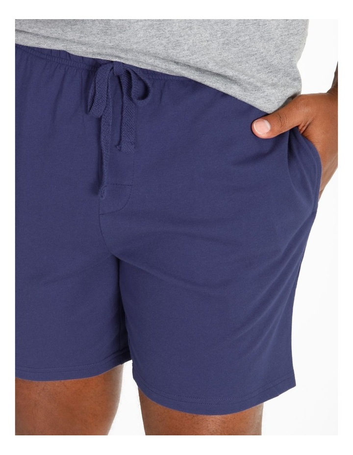 Short Sleeve Tee & Knit Short Set image 4