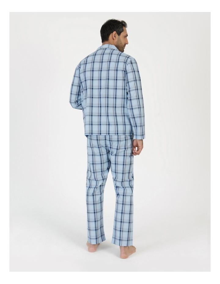 Essentials Long Sleeve Poplin PJ Set - Harvey Check image 3