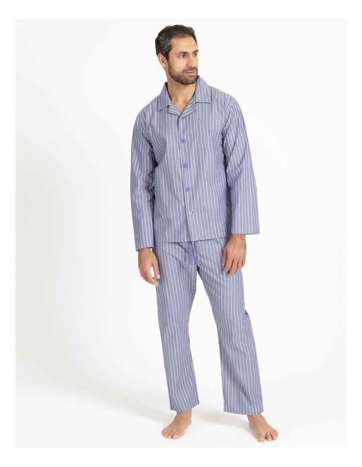 Essentials Poplin PJ Set - Stripe image 1