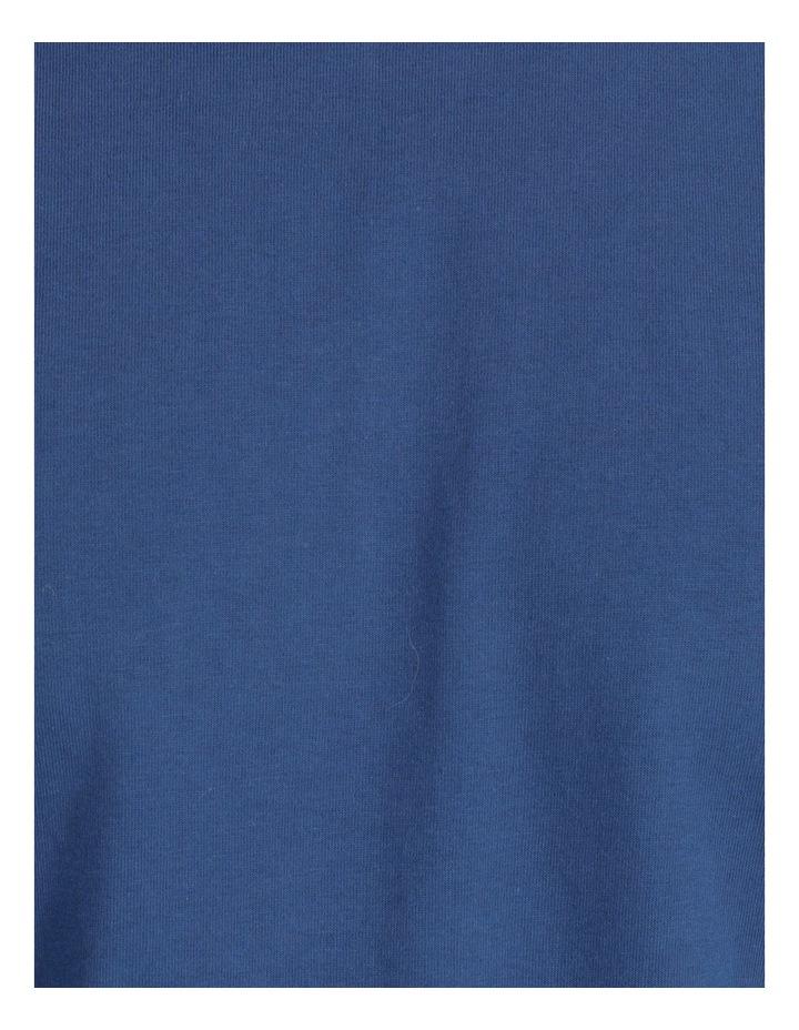 Essentials Short Sleeve Tee & Poplin Short Pj Set - Diamond Stripe image 7