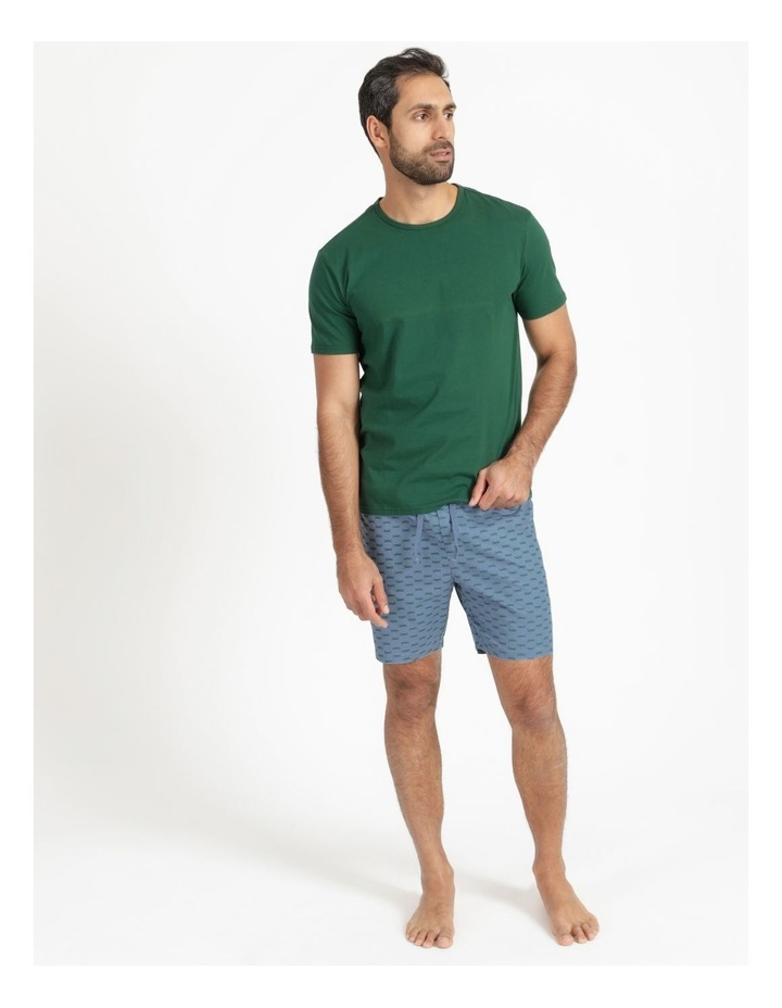Essentials Short Sleeve Tee & Poplin Short Pj Set - Dragon Fly Summer image 1