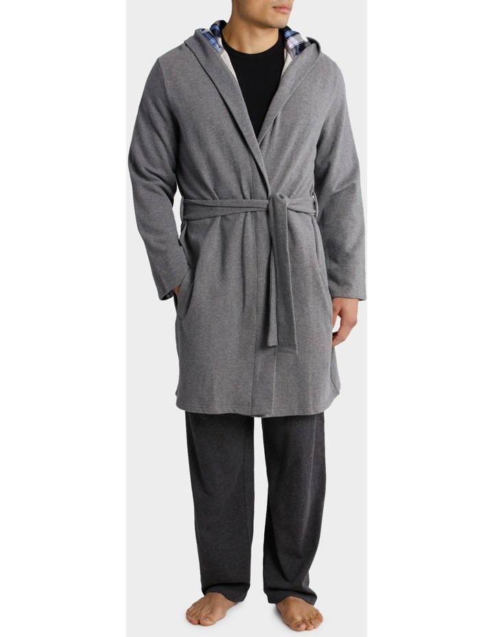 Blaq Hooded Robe image 1