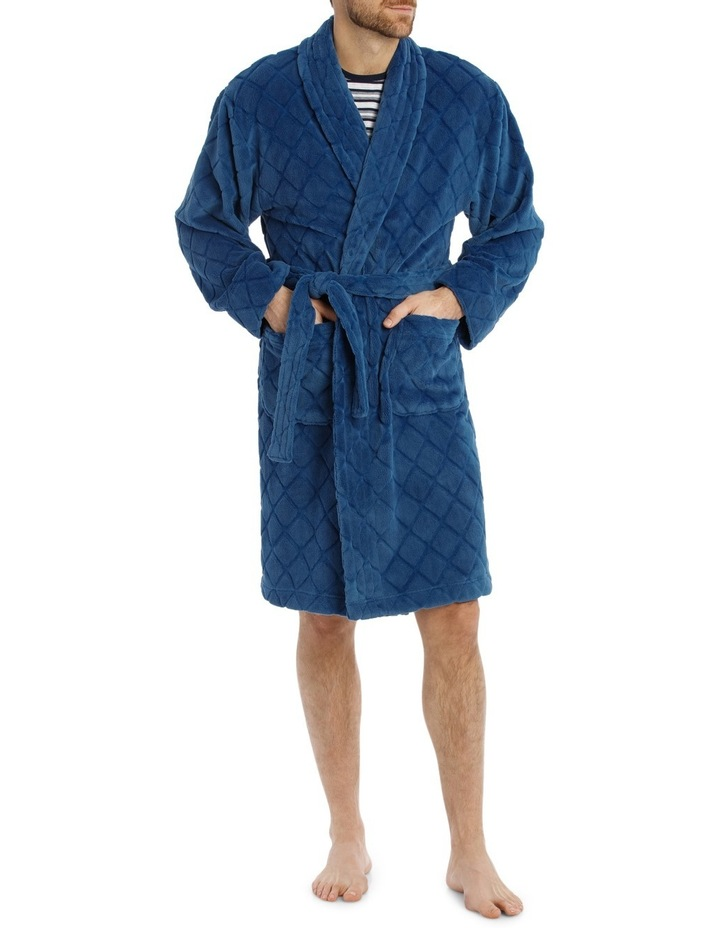 Diamond Coral Fleece Robe image 1