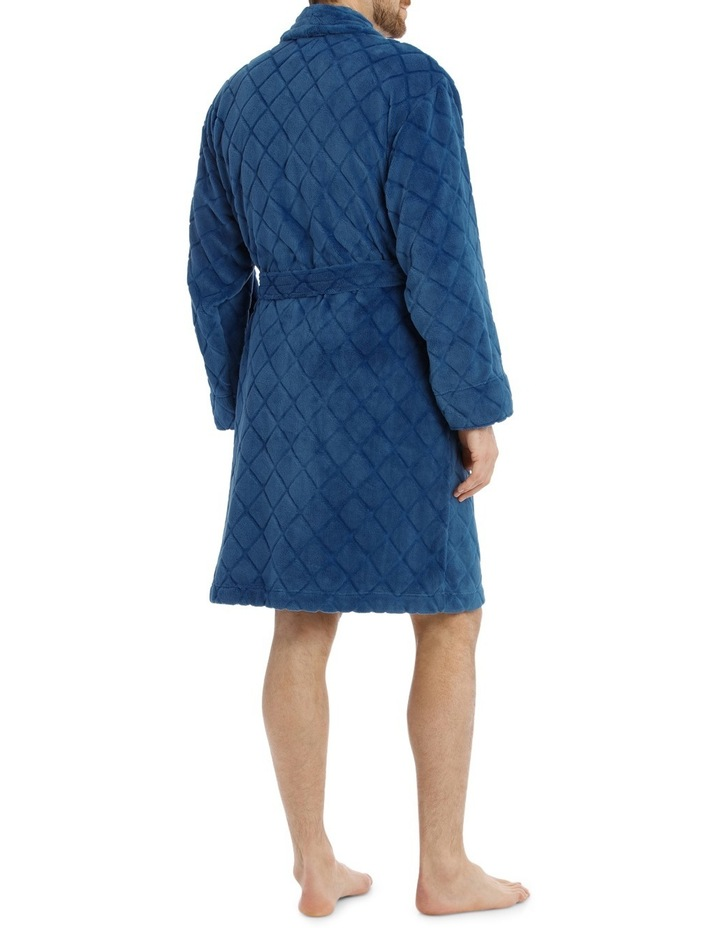 Diamond Coral Fleece Robe image 2