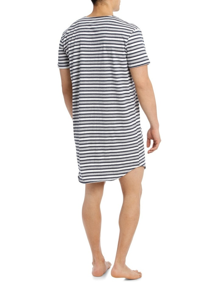 Multi Stripe Knit Nightshirt image 2