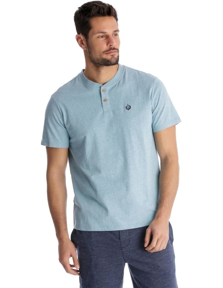 Premium Henley Short-Sleeve T-Shirt image 1