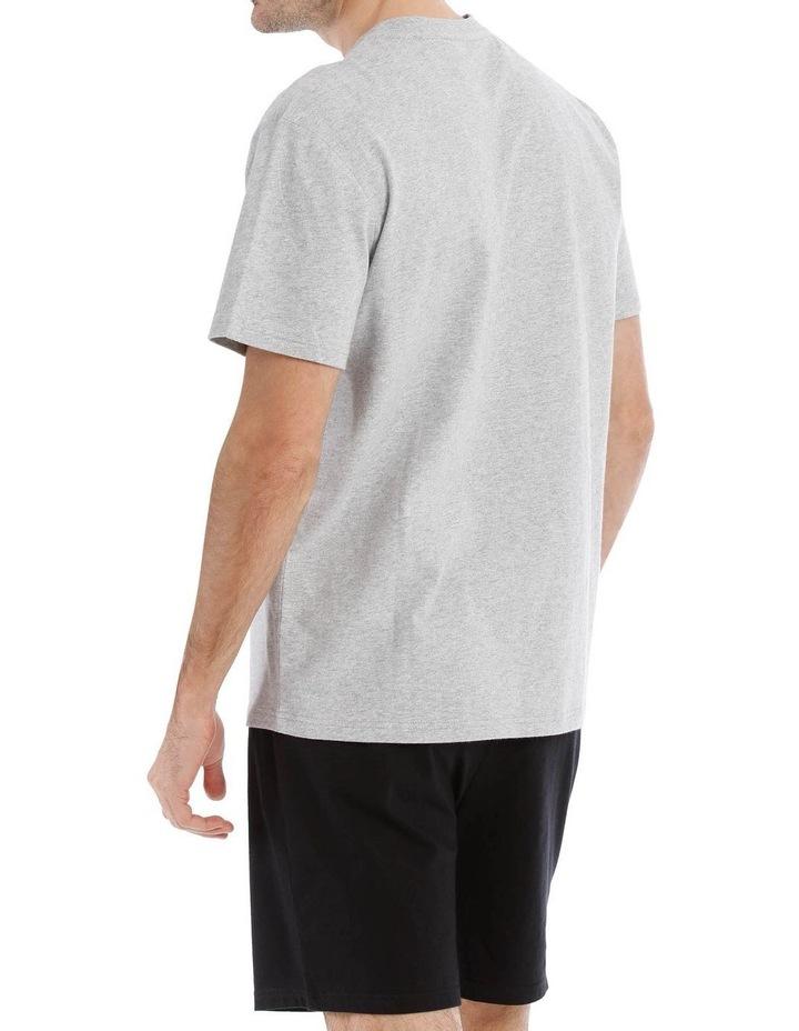 Premium Henley Short Sleeve Tee image 2
