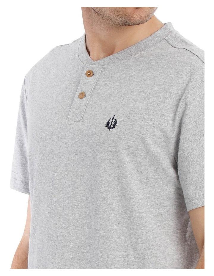Premium Henley Short Sleeve Tee image 3