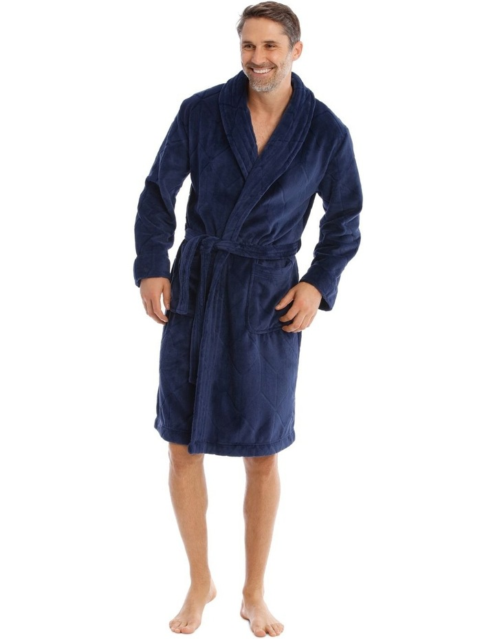 Coral Fleece Dressing Gown image 1