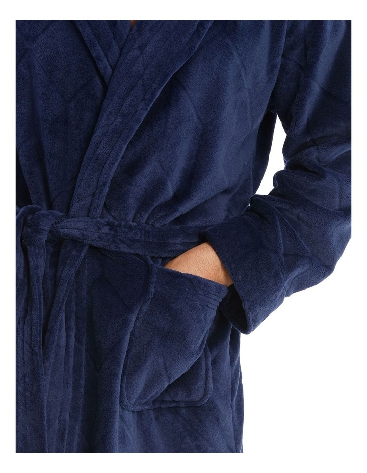 Coral Fleece Dressing Gown image 3