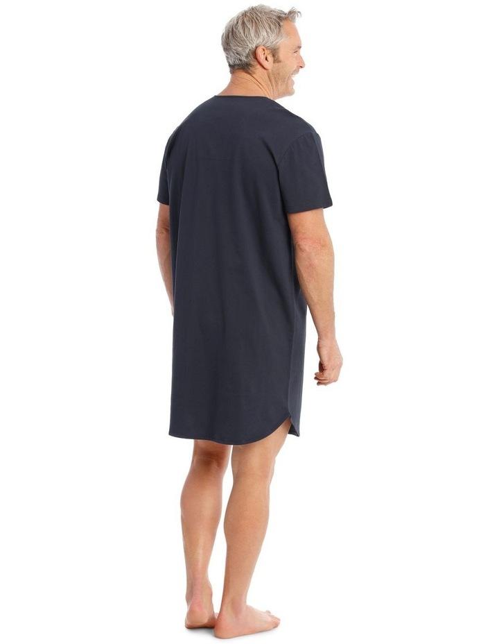 Short Sleeve Knit Nightshirt image 2