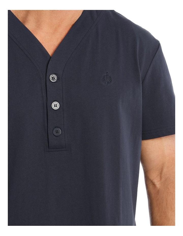Short Sleeve Knit Nightshirt image 3