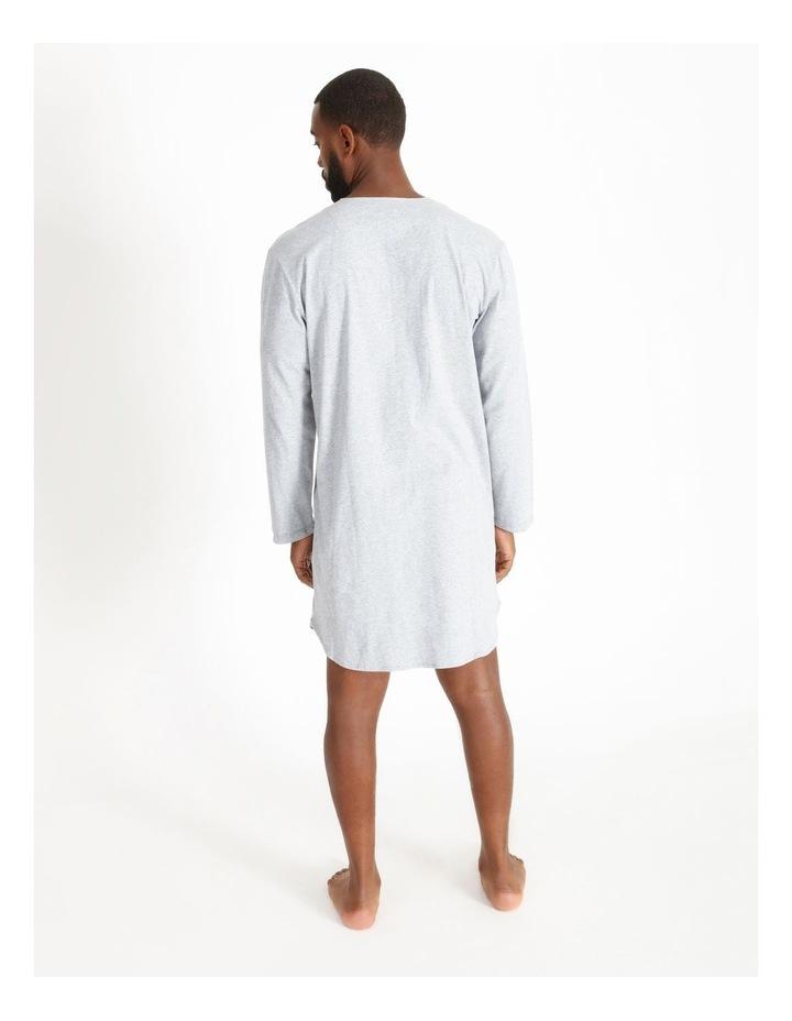 Long Sleeve Knit Nightshirt image 2