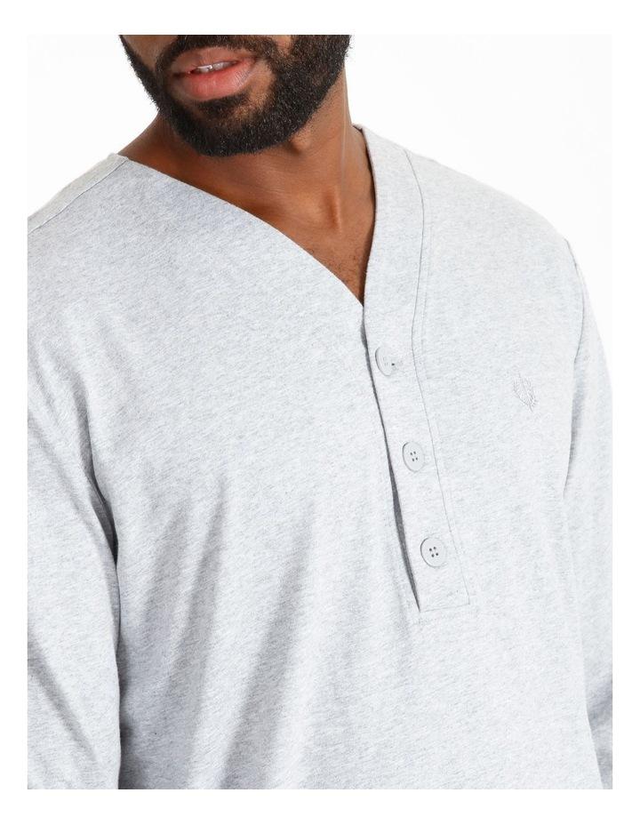Long Sleeve Knit Nightshirt image 3