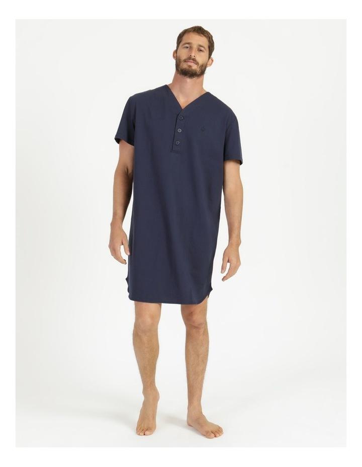 Short Sleeve Knit Niteshirt image 1