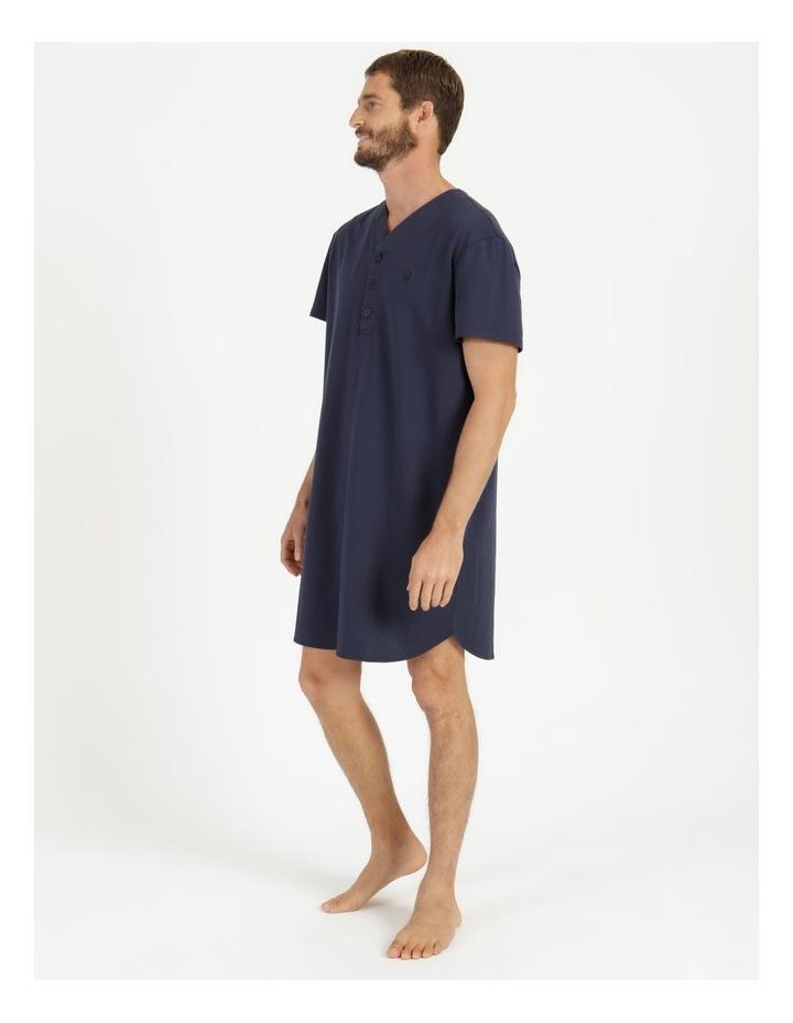 Short Sleeve Knit Niteshirt image 3