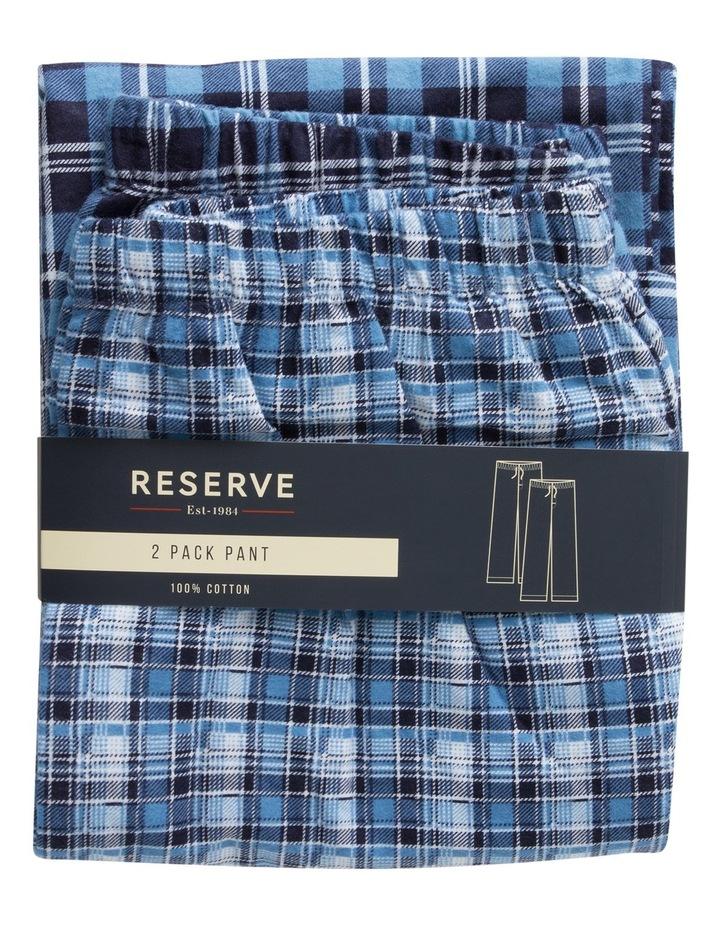 2 Pack Flannelette Pant Set image 1