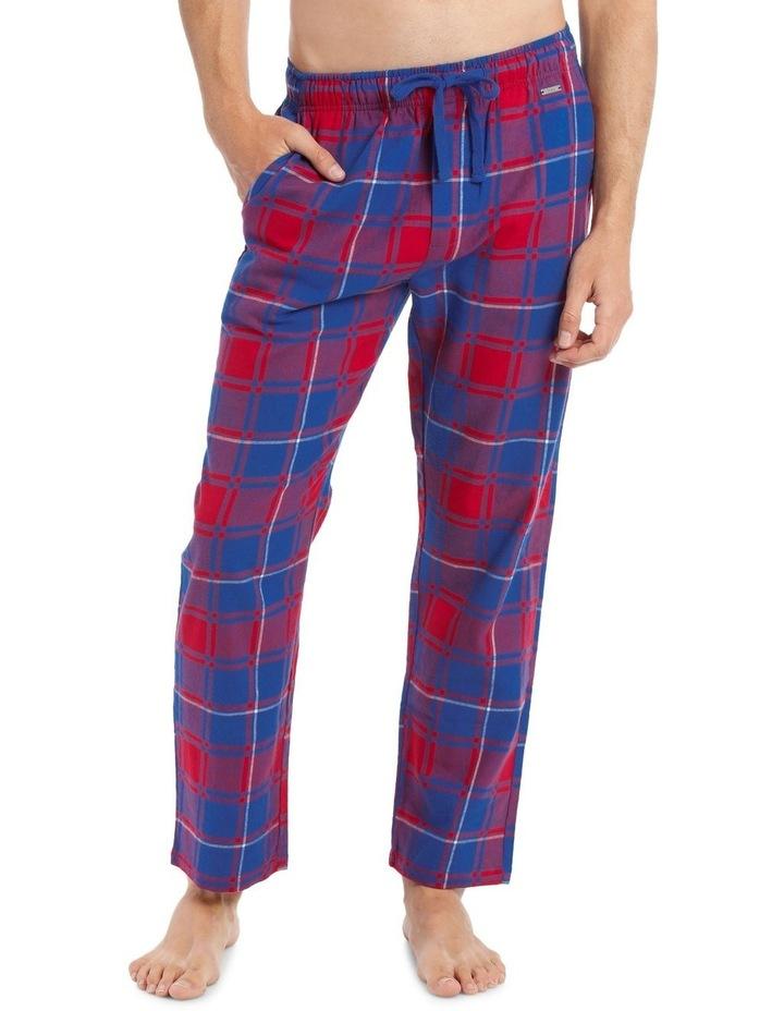 Check Brushed Ydye Sleep Pant image 1