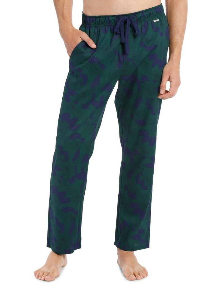 Blaq Cotton Sleep Pant - Evergreen image 1