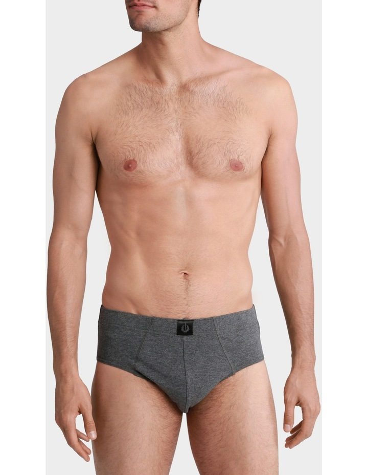 Reserve 4 Pack Brief - Tonal Marle image 3
