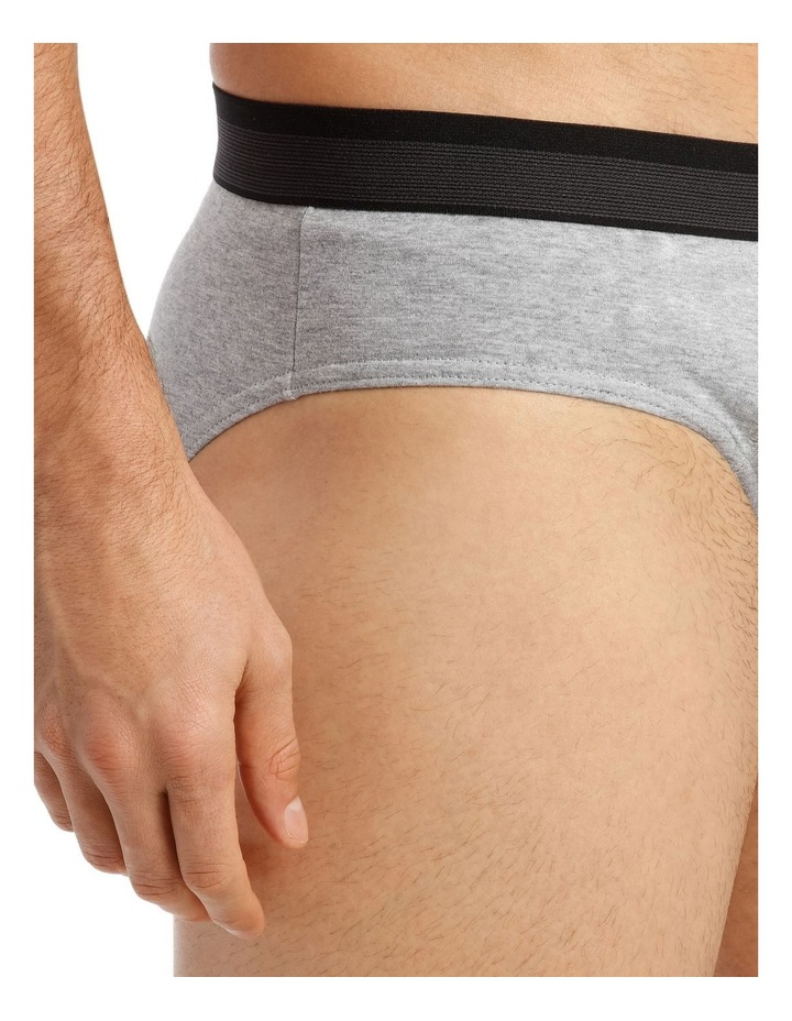 Reserve 4 Pack Brief - Attached Elastic image 4