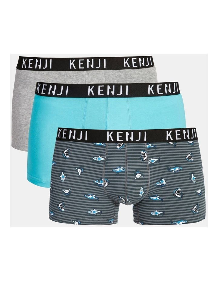 3 Pack Fashion Trunks image 1