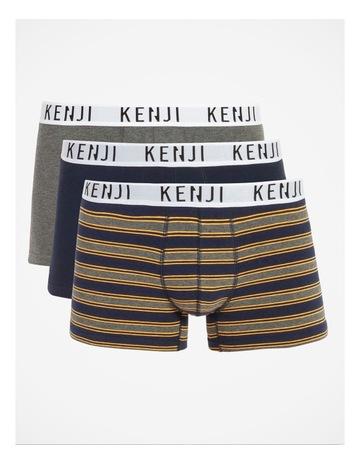 Charcoal/Navy/Stripe colour