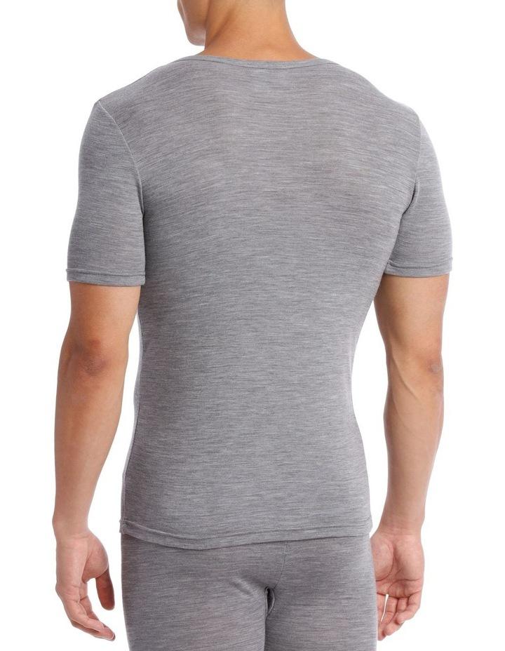 Merino Wool Blend Short Sleeve Top image 2