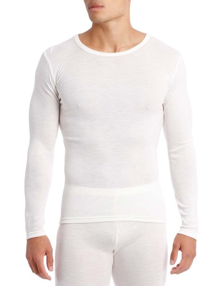 Merino Wool Blend Long Sleeve Top image 1